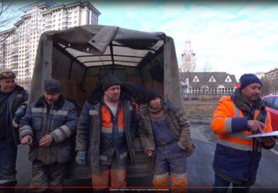 Строители начали бросаться на активистов, фиксирующих незаконные работы в ЮЗАО