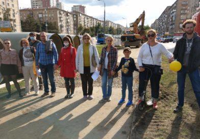 Общественная инспекция на Ленинском проспекте